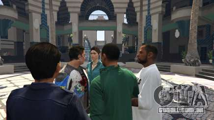 Para criar uma gangue de GTA 5