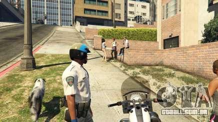 Como um policial no GTA 5