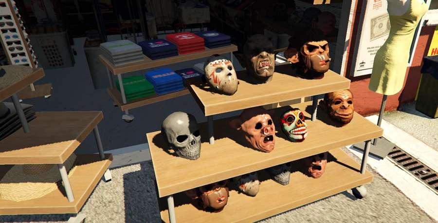 Como comprar a máscara de GTA 5