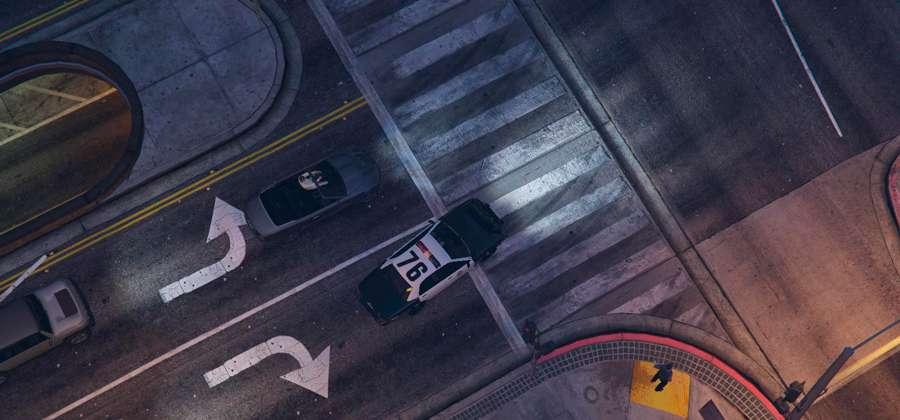 Ajuste-Polizei-Auto en el GTA 5