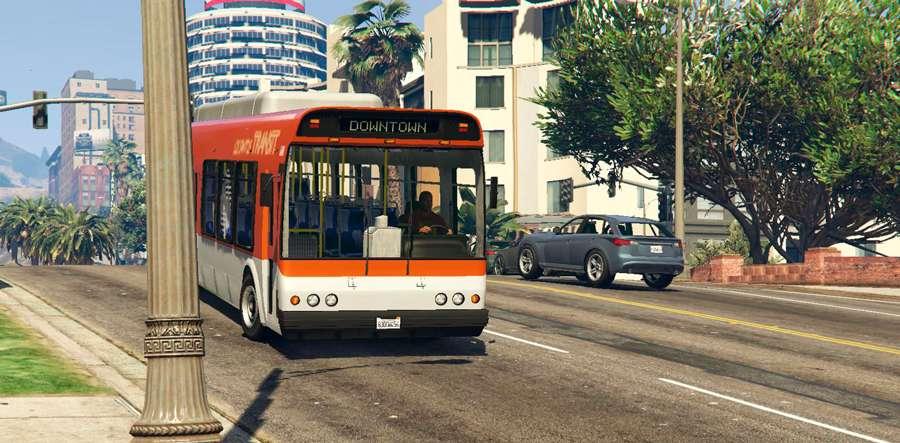 Como trabalhar como motorista de ônibus em GTA 5