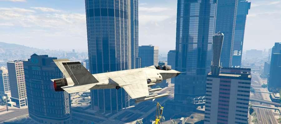 Como voar o Hydra no GTA 5