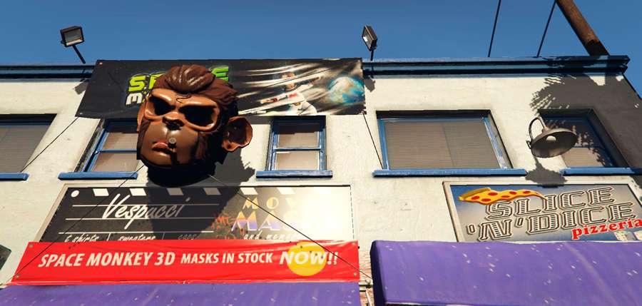 Onde comprar máscara de coruja em GTA 5