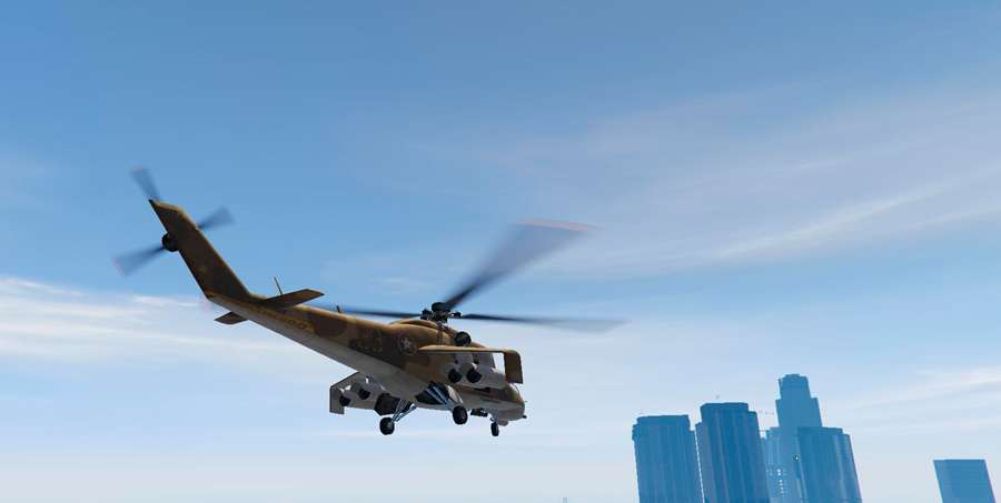 Como pilotar um helicóptero em GTA 5