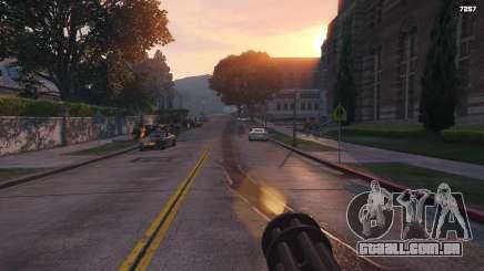 Como encontrar uma metralhadora giratória em GTA 5