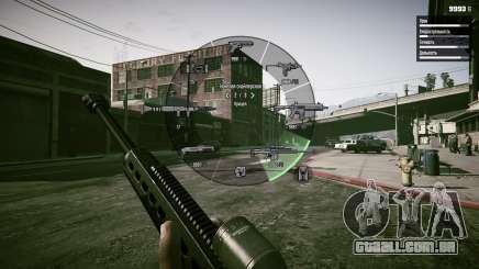 Como mudar de armas no GTA 5