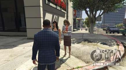 Como posso encontrar uma namorada para Franklin de GTA 5