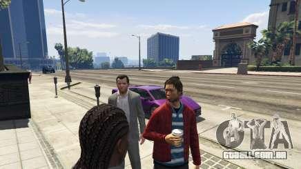 Para bloquear um carro em GTA 5