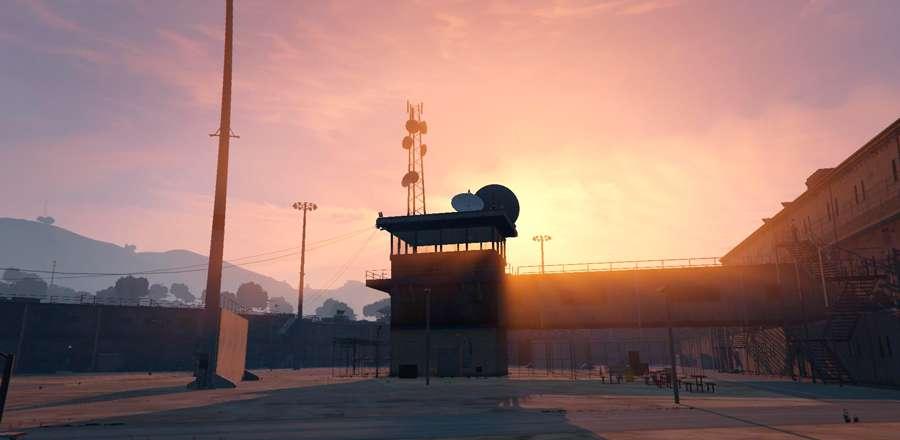 Ele se parece com uma prisão de BOLINGBROOK em GTA 5