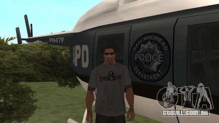 Onde você pode encontrar um helicóptero da polícia no GTA San Andreas