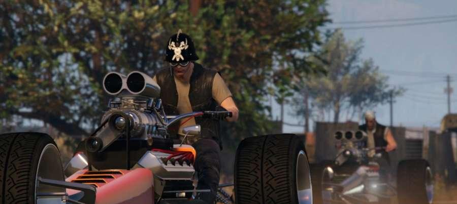 Oeste controla o foguete de GTA 5 Online