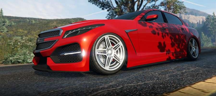 Albany V-STR dans GTA 5