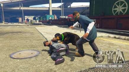 Chop Attack in GTA 5