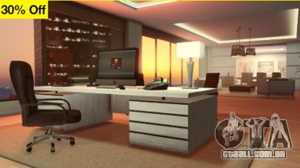Personalizaciones de oficinas de ejecutivo