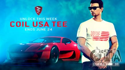Camiseta Coil USA
