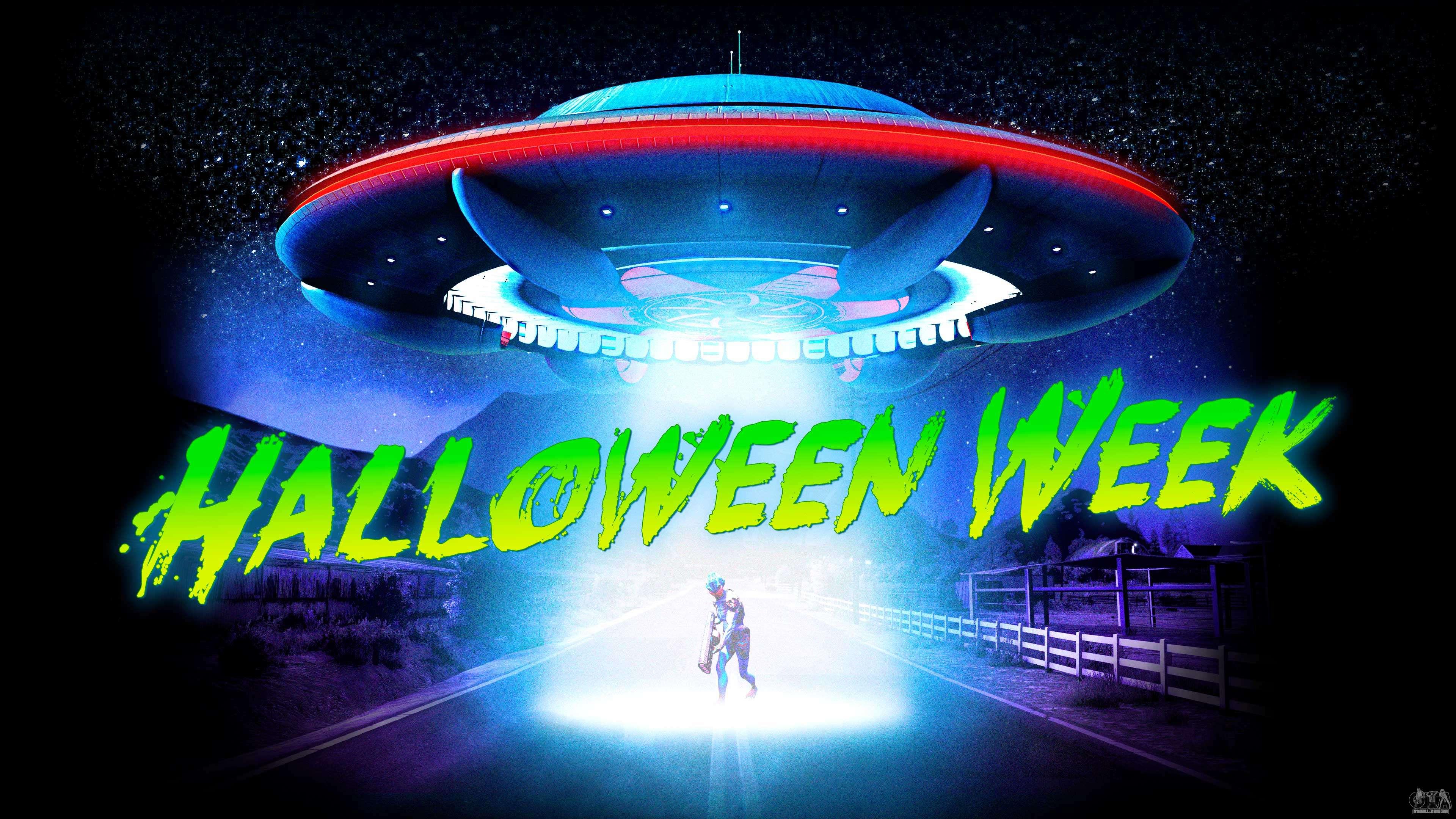Semana de Halloween no GTA Online