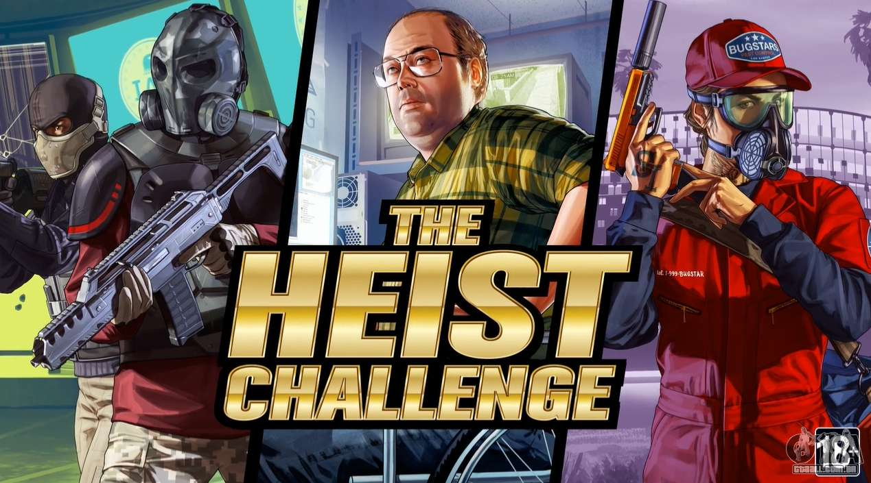 O Desafio de Golpe em GTA Online