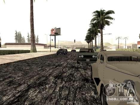 New roads in Las Venturas para GTA San Andreas sexta tela