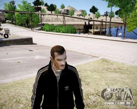 Old Niko para GTA 4 por diante tela