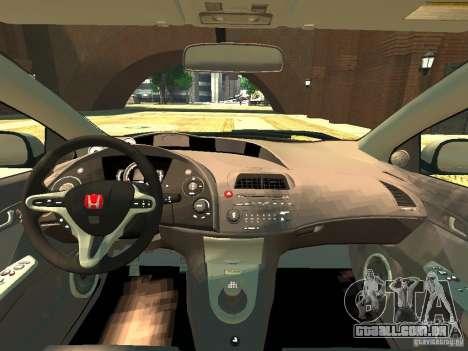 Honda Civic Type R Mugen para GTA 4 vista direita