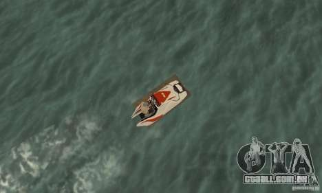 Hydrocycle para GTA San Andreas vista direita