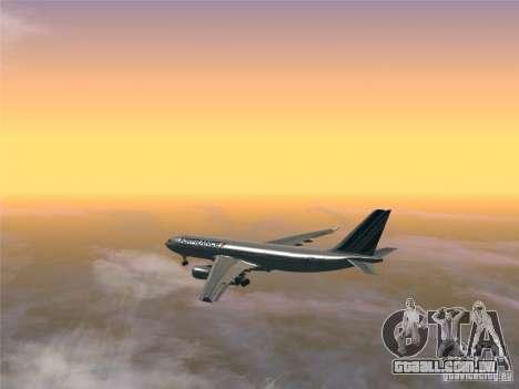 Airbus A330-200 Air France para GTA San Andreas vista direita