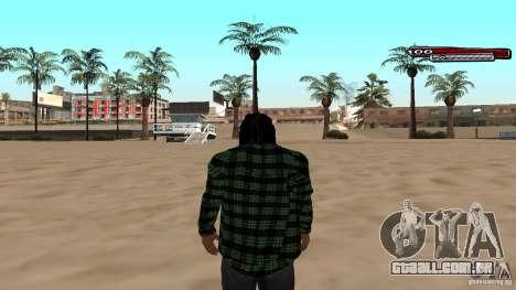 New skin Grove HD para GTA San Andreas segunda tela