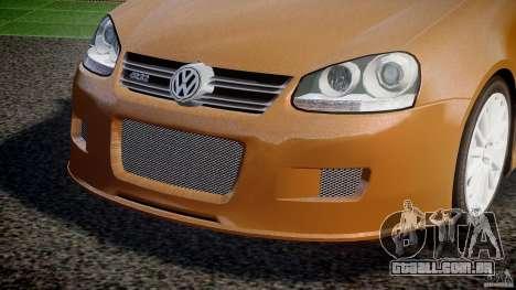 Volkswagen Golf R32 v2.0 para GTA 4 vista superior