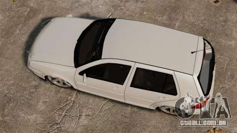 Volkswagen Golf Flash Edit para GTA 4 vista direita