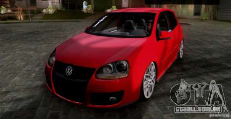 Volkswagen Golf MK5 GTI Stance para GTA San Andreas