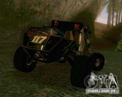 Ickler Jimco Buggy para GTA San Andreas vista direita