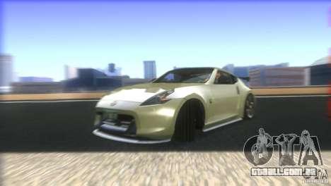Nissan 370Z Drift 2009 V1.0 para GTA San Andreas vista inferior