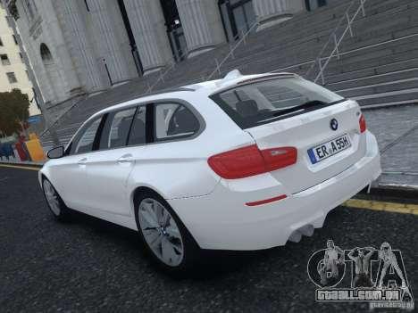 BMW M5 F11 Touring V.2.0 para GTA 4 traseira esquerda vista