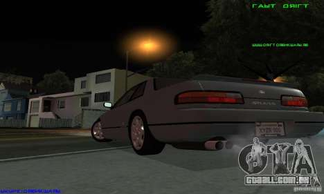 Nissan Silvia S13 Tunable para GTA San Andreas esquerda vista