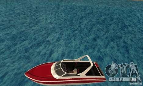 GTAIV Tropic para GTA San Andreas esquerda vista