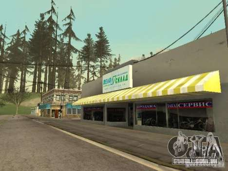 A aldeia de Ivanovka para GTA San Andreas por diante tela