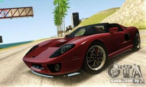 Ford GTX1 Roadster V1.0 para GTA San Andreas