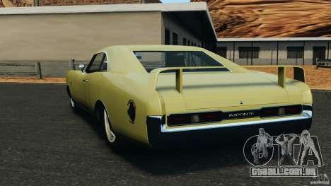 New Dukes para GTA 4 traseira esquerda vista