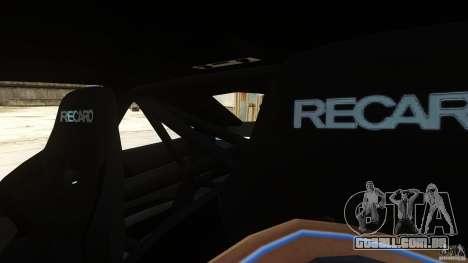 BMW M3 GTS Final para GTA 4 vista interior