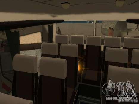 LAZ 699R 98021 para GTA San Andreas vista superior