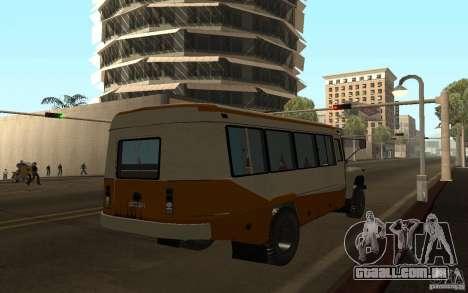 Kavz 3976 KAVZOZIL para GTA San Andreas vista traseira