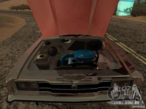 Ford Cortina MK 3 2000E para GTA San Andreas traseira esquerda vista