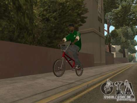 New Sweet para GTA San Andreas quinto tela