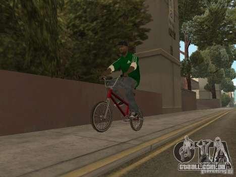 New Sweet para GTA San Andreas quinto tela