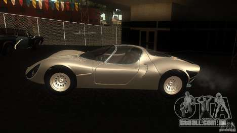 Alfa Romeo Tipo 33 Stradale para GTA San Andreas esquerda vista