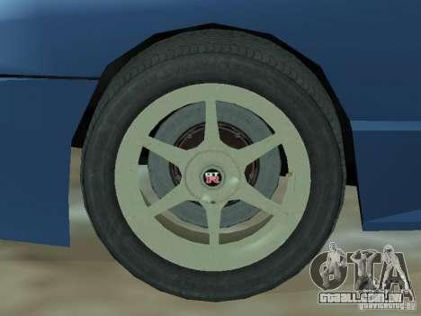 Elegia de Tops conversíveis para GTA San Andreas vista interior