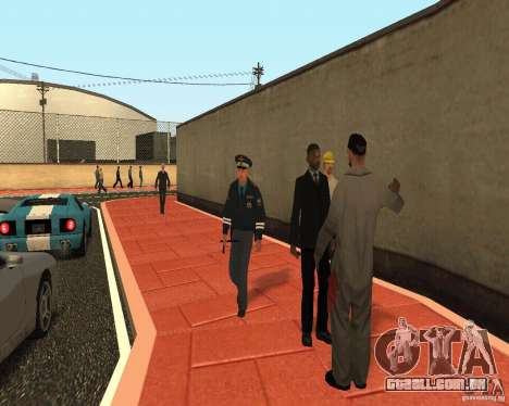 Major DPS para GTA San Andreas segunda tela