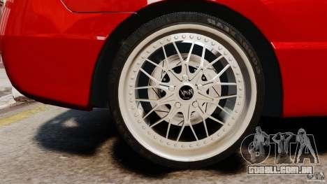 Honda Civic Si para GTA 4 vista de volta