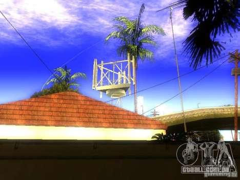 Base da Grove Street para GTA San Andreas por diante tela