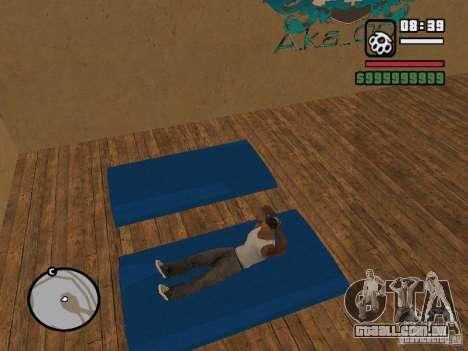 Training and Charging para GTA San Andreas terceira tela